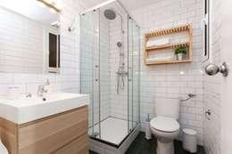 reforma baño: Baños de estilo moderno de Masquepintura