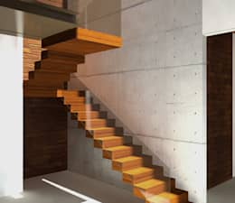 Cầu thang by AM arquitetura e interiores