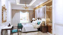 Ranjang dan Panel Ranjang:  Bedroom by Pro Global Interior