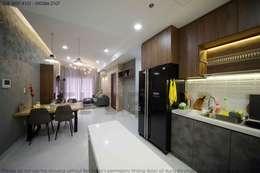 Project: HO1784 Apartment (IC)/ Bel Decor :  Tủ bếp by Bel Decor