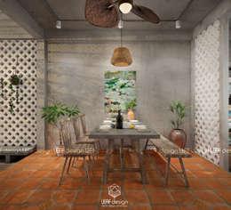 غرفة السفرة تنفيذ LEAF Design
