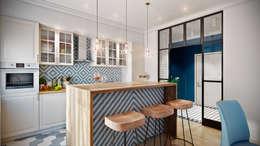 Лазурный берег: Кухни в . Автор – CO:interior