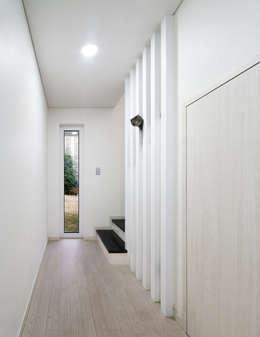 판교온당 프로젝트: 적정건축의  복도 & 현관
