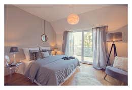 Home Staging einer Wohnung in 1140 Wien die zu VERKAUFEN ist !!!: moderne Schlafzimmer von VIENNA HOME STAGING