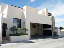 VOLUMETRIA: Casas de estilo moderno por Acrópolis Arquitectura