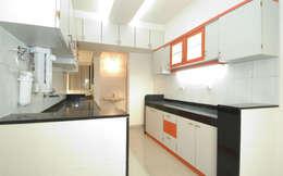 廚房 by Samruddhi Interiors