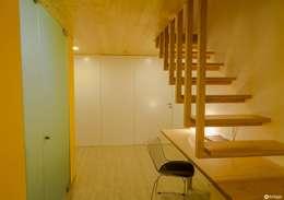 走廊 & 玄關 by Nuno Ribeiro arquitecto