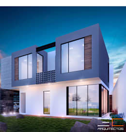 Residencia SZ [León, Gto.]: Casas de estilo moderno por 3C Arquitectos S.A. de C.V.
