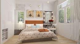 Phòng ngủ dành cho ông bà:  Phòng ngủ by Công ty TNHH Xây Dựng TM – DV Song Phát