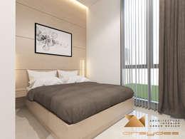 Kamar Tidur Tamu:   by Arsa Synergy Design