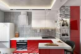 廚房 by Дизайн студия Алёны Чекалиной