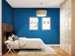 Dormitorio: Dormitorios de estilo mediterráneo de Klausroom