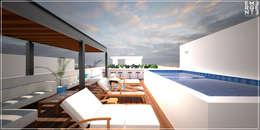 TERRAZA: Terrazas de estilo  por EMERGENTE | Arquitectura