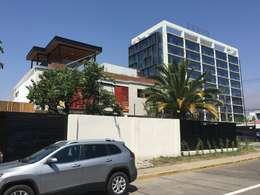 REMODELACION VITACURA: Casas unifamiliares de estilo  por ALLEGRE ARQUITECTOS
