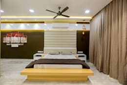 Bedroom: modern Bedroom by ZEAL Arch Designs