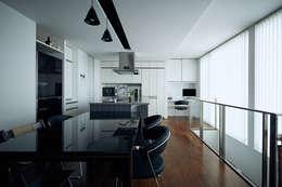 一級建築士事務所 株式会社KADeL의  다이닝 룸