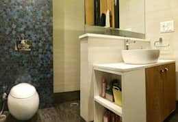 Residence Design, Bhera Enclave: eclectic Bathroom by H5 Interior Design