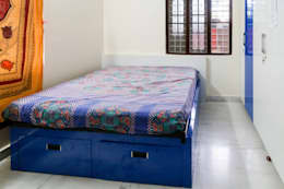 Mr. KoteshwarRao Uppal: modern Bedroom by Ghar Ek Sapna Interiors