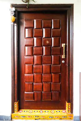 Mr. KoteshwarRao Uppal:  Doors by Ghar Ek Sapna Interiors