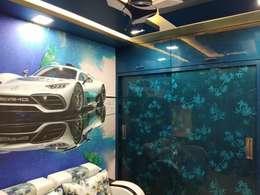 Kids Room: modern Nursery/kid's room by KUMAR INTERIOR THANE