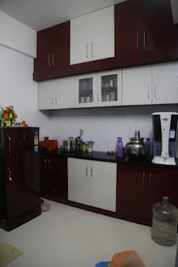 Mr. Gupta Kondapur Naani: modern Kitchen by Ghar Ek Sapna Interiors