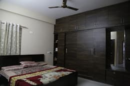 Mr. Gupta Kondapur Naani: modern Bedroom by Ghar Ek Sapna Interiors