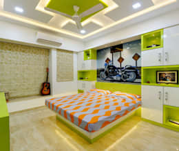 kids room interior: modern Bedroom by KUMAR INTERIOR THANE