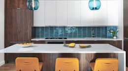 Tribeca Apartment: modern Kitchen by Sarah Jefferys Design