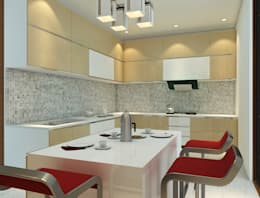 Modular Kitchen - Baner:  Kitchen units by DECOR DREAMS