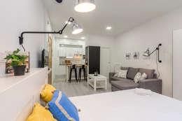 La magia del Home Staging - Proyecto de Home Staging en Madrid: Hogar de estilo  de Dekohuset