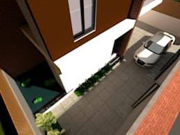 Parking: modern Houses by Space Alchemists