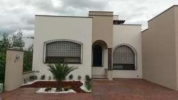 CASA CORREGIDORA I: Casas de estilo rústico por DEC Arquitectos
