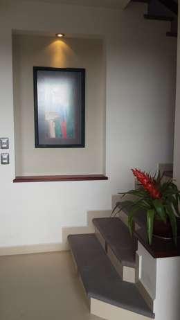 Escaleras de estilo  por DEC Arquitectos