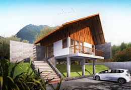 Bukit - Home Stay:   by GUBAH RUANG studio