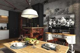 """кухня под кодовым названием """"Смуглянка"""": Кухни в . Автор – Diveev_studio#ZI"""