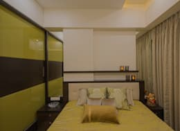 Mr. Shah's Residence : To create a Luxurious Lifestyle Design: modern Bedroom by Banaji & Associates