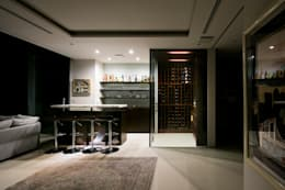modern Wine cellar by homify