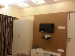 2bhk Residential project  : modern Bedroom by Interiqo