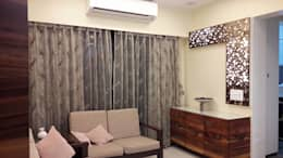 2bhk Residential project  : modern Living room by Interiqo