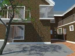 3: Casas de estilo moderno por OMD Arquitectos
