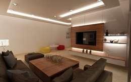 Living Room: modern Living room by A Design Studio