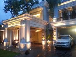 Mr.Dino's House in Renon - Bali:  Rumah by ANJARSITEK