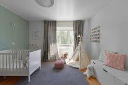 غرف الرضع تنفيذ Mónica Parreira Design Interiores