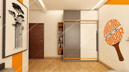 Project 2: modern Dressing room by Fabmodula