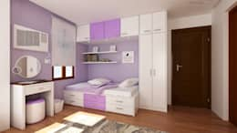 Interior works: Bedroom: modern Bedroom by  ABG Architects and Builders