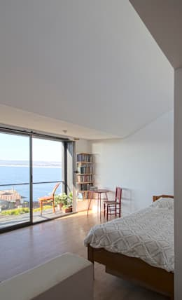 Dormitorios de estilo minimalista por homify
