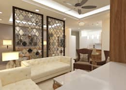 ATS hamlet One, NOIDA: modern Living room by Form & Function