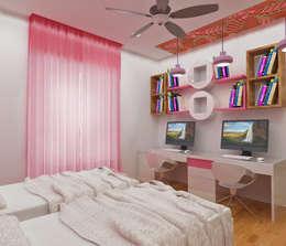 ATS hamlet One, NOIDA: modern Nursery/kid's room by Form & Function
