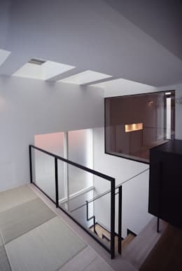 東京23区でプールのある家: 石川淳建築設計事務所が手掛けたプールです。