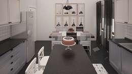 IKLIMA SENOL ARCHITECTURAL- INTERIOR DESIGN & CONSTRUCTION – DR. MUSTAFA YILDIZ EVİ:  tarz
